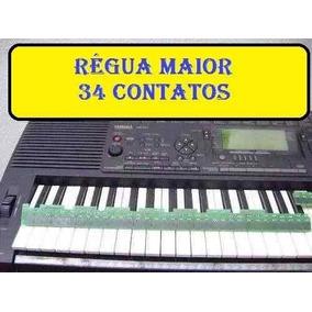 Régua De Contato Peças Yamaha Djx61 E Psr B50 Frete Gratis