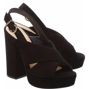 Sandália Bold Black Heel Black Schutz S2032600110001