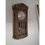 Antiguo Reloj Junghans A Pendulo Con Soneria