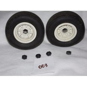 Roda Maximus Dianteira Par Estrela Brinquedo Antigo Nº003