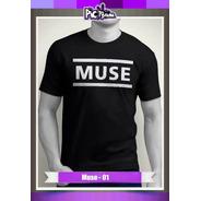 Camiseta Rock Music - Muse