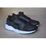 Kp3 Nuevos Zapatos Nike Air Huarache Negro Blanco Para Damas