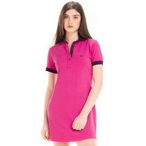 Vestido Gola Pólo Pink Principessa Andrieli