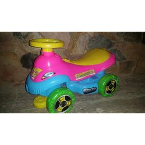Carrito Para Niños Montable Princesas / Cars Jugutes Calidad