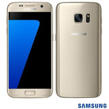 Samsung Galaxy S7 Dourado Tela 5.1 4g 32 Gb 12 Mp Sm-g