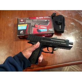 Pistola Crossman De Co2 Balines De Metal Blowback