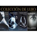 Trilogia 50 Sombras De Grey + 4to Libro Gratis Ebook Digital
