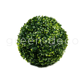 Topiario Esfera Verde Artificial Decoracion 23cm Oferta!