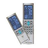 Universal Ac Remote Control (silver Grey) Para Mini-split S