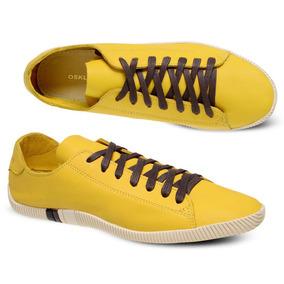 Tênis Sapatênis Osklen Masculino Arpoador Amarelo