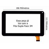 Tela Vidro Touch Tablet Microboard Ellite 7 Polegadas Origin