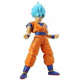 Kit De Modelo De Plástico Goku Bandai Hobby Ssgss, Figura En