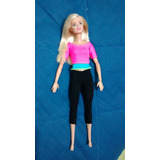Barbie Made To Move *sin Caja*