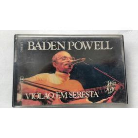 Fita K7 Baden Powell Violão Seresta Mpb Original Frete Gráti