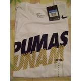 Playera Pumas Unam Nike Blanca Original Nuevo