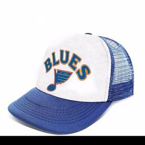 Gorra Trucker Nhl Hockey Equipos Modelo Saint Luis Blues Dos