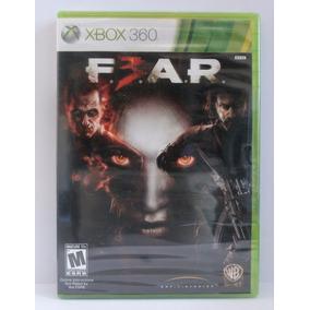Fear 3 Jogo Xbox 360 Novo Lacrado Mídia Física