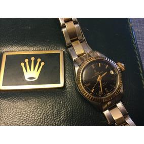 Rolex Tudor Princess Dama Automatico Acero Y Oro 18 Kt