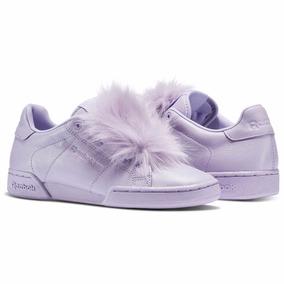 Zapatos lila Reebok para mujer W14I7YATWt