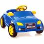 Carrinho Audi Att Azul Com Pedal - Homeplay
