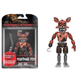 Boneco Foxy Nightmare Five Nights At Freddys Fnaf