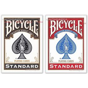 2 Baralhos Bicycle Standard - Preto E Vermelho
