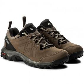 Zapatillas Hombre Talle 44.5 - Zapatillas Salomon Talle 44.5 Marrón ... 5b5e43d5536