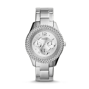 Reloj Mujer Fossil Stella De Acero Inoxidable