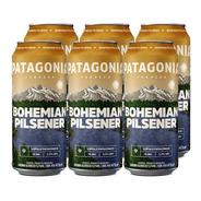 Patagonia Bohemian Pilsener Cerveza 473ml X 6 - Tomate Algo®