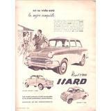 Antigua Publicidad Auto Isard Royal T700