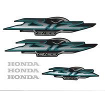 Kit Adesivos Honda Biz C 100 2003 Preta