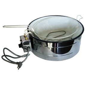 Fritadeira Elétrica Redonda Master 7 Lt Industrial 220v