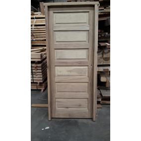 Puerta exterior madera dura de aberturas puertas for Puerta de madera exterior usada