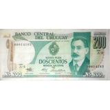 Billete Uruguay 200 Pesos Subasta C031506