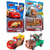 2 Carros Rayo Mcqueen Mate Color Changers Cars Cambian Color