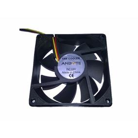 Cooler Fan Ventilador Anbyte 80mm 12v 3pines 8cm Extractor