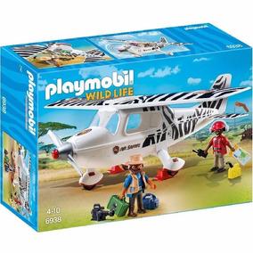 Playmobil 6938 Wild Life Avion Safari Original Intek