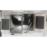 Kit 4 Celular Samsung P/retirada De Peças 4 Unidades