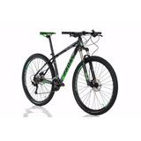 Bicicleta Sense Rock Evo 2018 27v Preto/verde