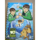 Cuaderno Con Espiral De Ben 10 Alien Force Para Niños
