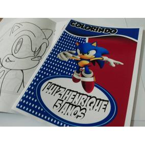 Livro De Colorir Personalizado Lembrancinhas Festa Infantil