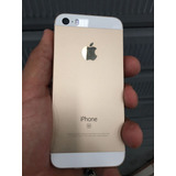 Iphone Se 64gb Gold 4k 12mp Huella 9/10 Aceptamos Visa
