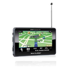 Navegador Gps 4,3 C/ Tv + Fm - Tracker 2 Multilaser