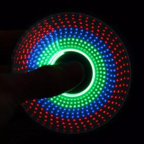 Fidget Hand Spinner Finger Toy Anti Stress Led Desenho 3d