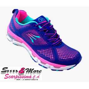 Zapatos Para Dama Apolo Ad1607 Azul-fucsia