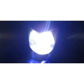 10 Lâmpadas Moto Led Efeito Xenon H4 Titan 150 Factor Cg Fan
