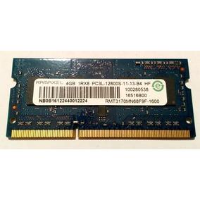 Memoria Ram 4gb Ddr3 Para Laptop Y Canaima Letras Rojas