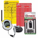 Apito Fox 40 Pearl C/ Cordão + Cartão Árbitro + Cronometro
