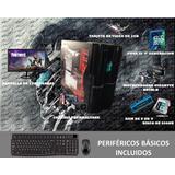 Pc Gamer O Diseño Con Luces Led En El Chasis