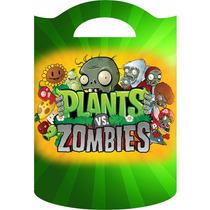 Bolsitas Golosineras Cumples Infantiles!!plants Vs Zombies!!